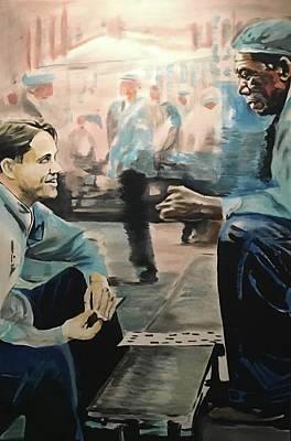 Tim Painting - Shawshank Redemption by Luke Glasscock