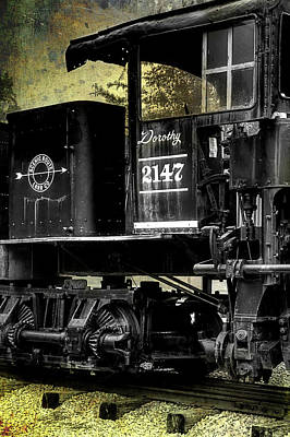 Photograph - Shay Locomotive 2 by Mike Eingle