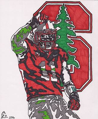 Drawing - Shayne Skov by Jeremiah Colley
