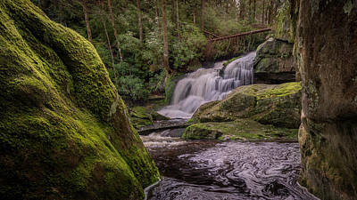 Photograph - Shays Run by Michael Donahue
