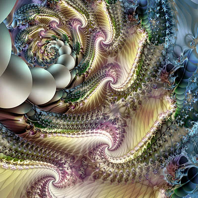 Translucence Digital Art - She Comes In Colors by Vic Eberly