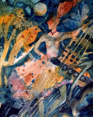 Painting - She Danced The Tango by Laurie Salmela