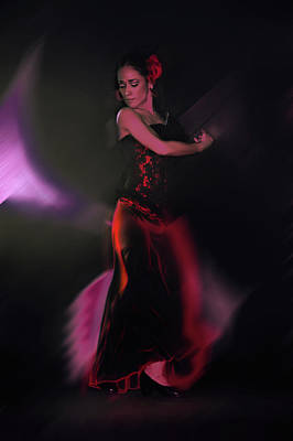 Spanish Dancer Photograph - She Dances For Love by Jeff Burgess