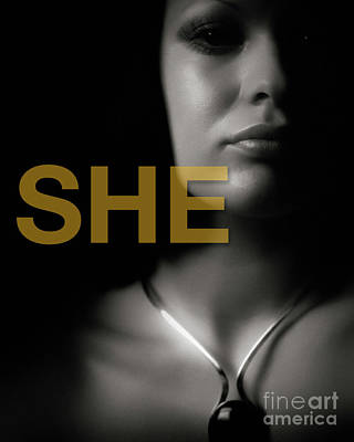Photograph - SHE by Edmund Nagele