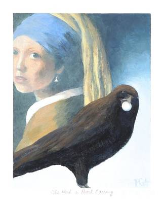 Painting - She Had A Pearl Earring by Phyllis Andrews