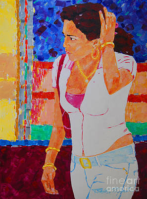 Painting - She Has Diamonds by Art Mantia
