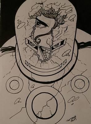 She-hulk Drawing - She Hulk by Tom Stearns