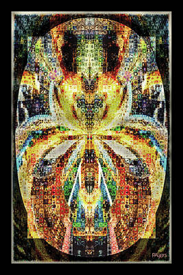 She Is A Mosaic Art Print