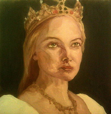 Painting - She Looks Regal by Peter Gartner