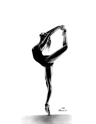 Drawing - She Moves With Grace by Kayleigh Semeniuk