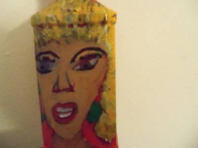 She Rocks Art Print by Rhonda Jackson