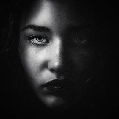 Photograph - She by Bez Dan