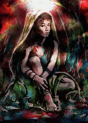 Soulfire Seer Art Print
