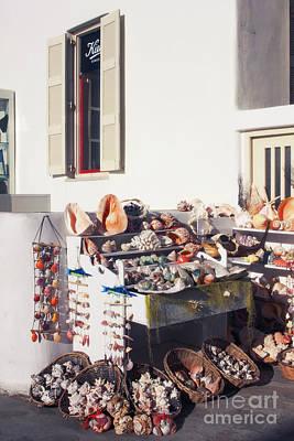 Photograph - She Sells Seashells Mykonos by Donna Munro