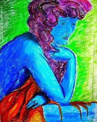 Photograph - She So Blue.  by Deedee Williams