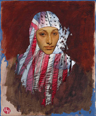 Mixed Media - She The People by Tony Rubino