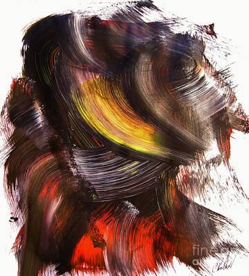 She Walks On By Art Print