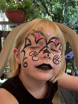 She Wanted A Tough Face Art Print