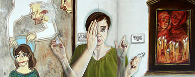Painting - She Wanted To See It Clearly by Kirsten Beitler