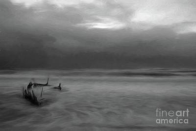 Digital Art - She Will Sail No More by Howard Ferrier