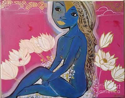 SHE Art Print by Willorna Mendiola