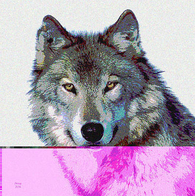 She Wolf Art Print by Charles Shoup