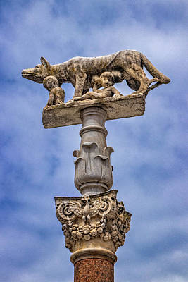 Photograph - She Wolf, Symbol Of Siena by Carolyn Derstine