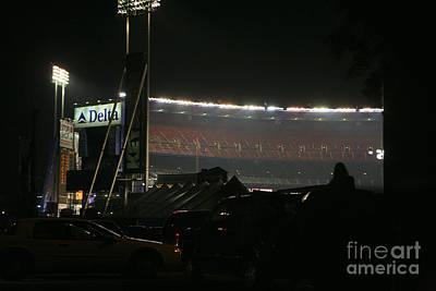 Shea Stadium Photograph - Shea Stadium by Chuck Kuhn