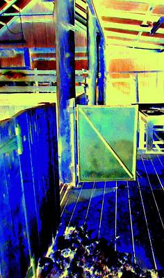 Photograph - Shearing Shed Blues by VIVA Anderson