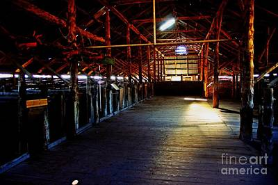 Photograph - Shearing Shed From A Bygone Era by Blair Stuart