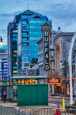 Urban Exploration Photograph - Shea's Buffalo by Chuck Alaimo