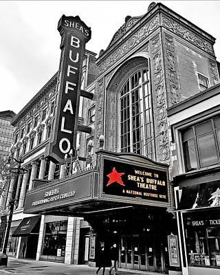 Shea's Buffalo Theater Print by Phil Pantano