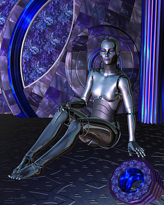 Digital Art - Shebot Karrisiel by Judi Suni Hall