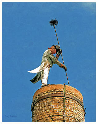Photograph - Sheboygan Chimney Sweep by Trey Foerster
