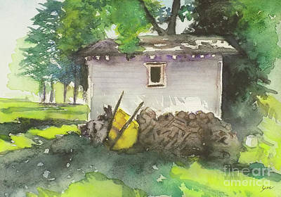 Painting - Shed 1 by Yoshiko Mishina