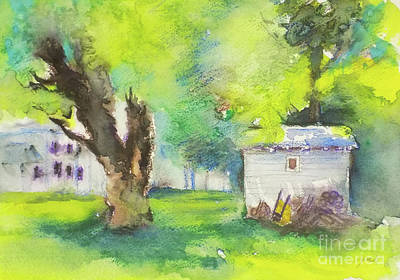 Painting - Shed 2 by Yoshiko Mishina
