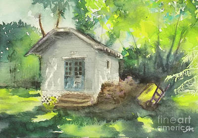 Painting - Shed 3 by Yoshiko Mishina