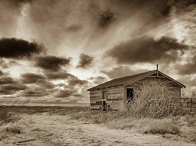 Photograph - Shed At Dusk by Greg Nyquist
