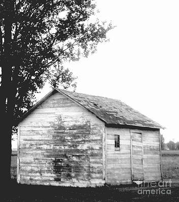 Photograph - Shed by Monica Whaley