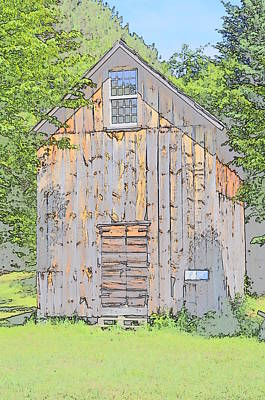 Shed Digital Art - Shed by Robert Nelson