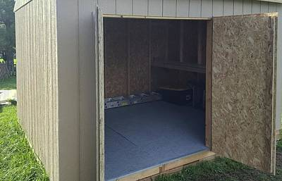 Photograph - Shed Work - Open Doors by Greg Jackson