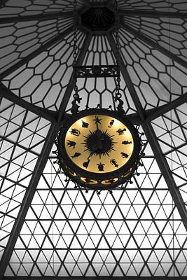 Shedd Aquarium Rotunda Sea Life Clock Art Print