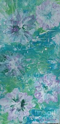 Painting - Shades Of Blue 2 by Lori Jacobus-Crawford