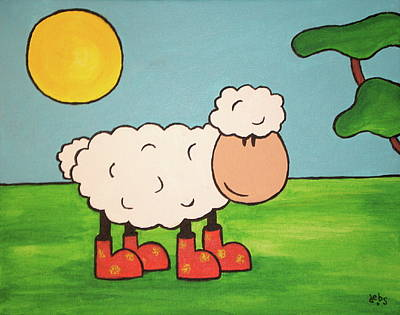 Painting - Sheeep by Sheep McTavish