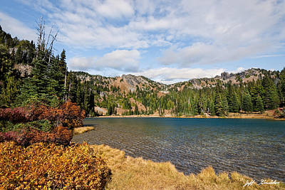 Photograph - Sheep Lake In The Fall by Jeff Goulden