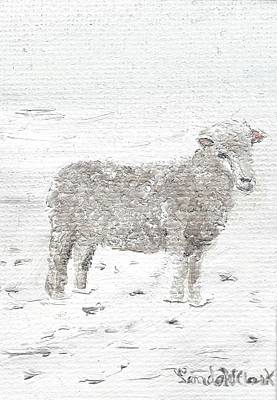 Painting - Sheep by Linda Clark