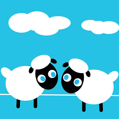 Digital Art - Sheep by Pbs Kids