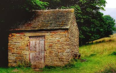 Photograph - Sheep Stable by Isabella F Abbie Shores FRSA