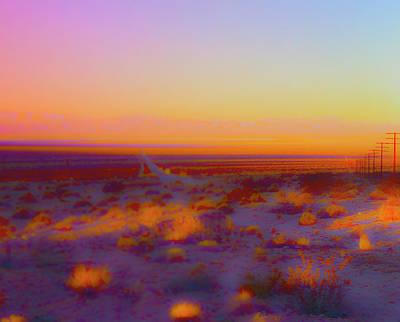 Photograph - Sheephole Sunset by Jan W Faul