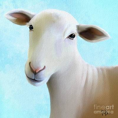 Painting - Sheepish by Tammy Lee Bradley